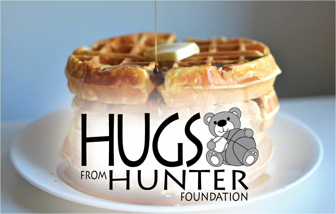 Hugs From Hunter Waffle Breakfast