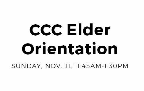 Elder Orientation