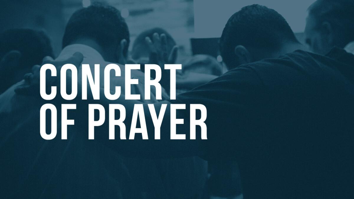 Concert of Prayer - November