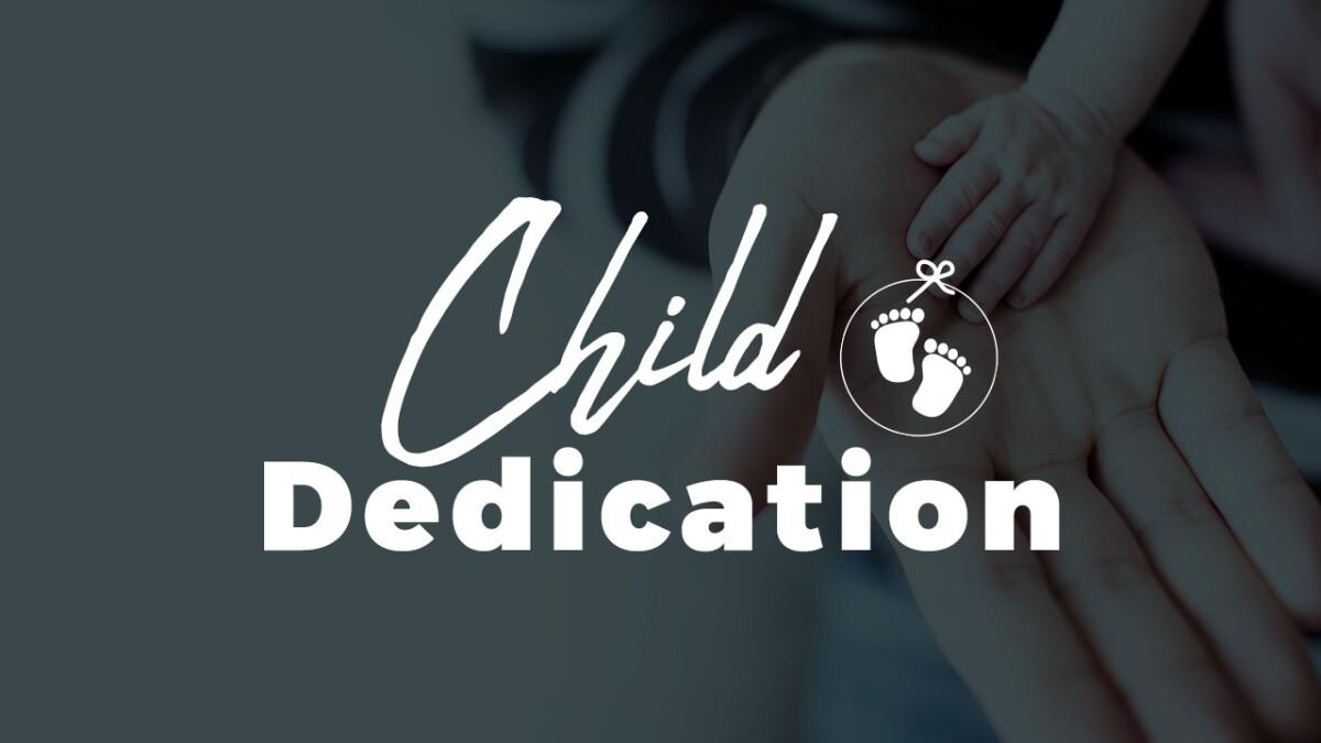 Spring Child Dedication