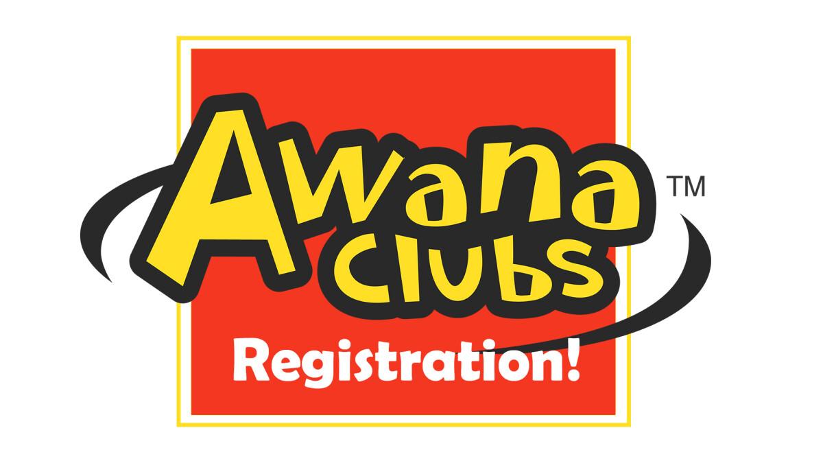 AWANA 2020-2021 Registration